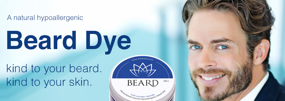 Premium Natural Beard Dye for Men Hypoallergenic